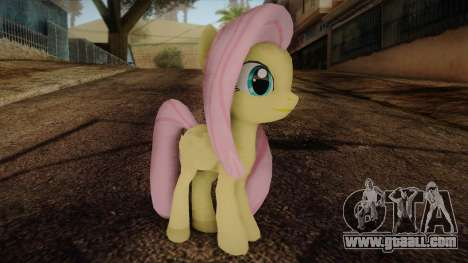 Fluttershy from My Little Pony for GTA San Andreas