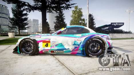 BMW Z4 GT3 2014 Goodsmile Racing for GTA 4 left view