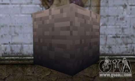 Block (Minecraft) v13 for GTA San Andreas second screenshot