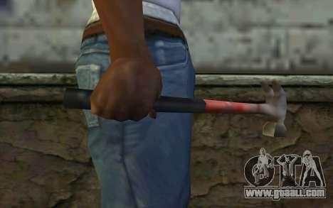 Hammer (GTA Vice City) for GTA San Andreas third screenshot