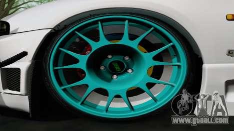 Nissan Skyline GT-R33 for GTA San Andreas inner view