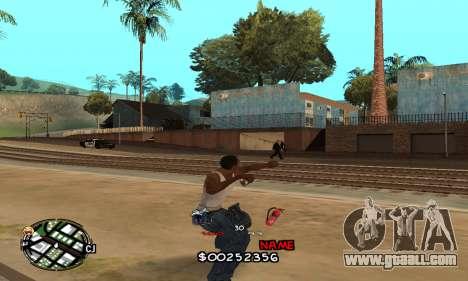 C-HUD by Jackson for GTA San Andreas forth screenshot