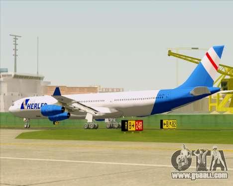 Airbus A340-300 Air Herler for GTA San Andreas wheels