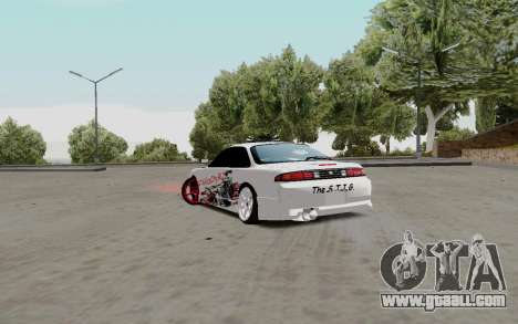 Nissan Silvia S14 VCDT for GTA San Andreas right view