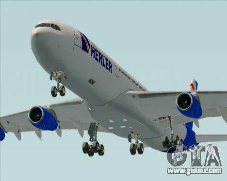 Airbus A340-300 Air Herler for GTA San Andreas engine