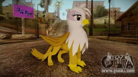 Gilda from My Little Pony for GTA San Andreas