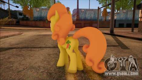 Carrot Top from My Little Pony for GTA San Andreas second screenshot
