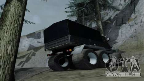 ZIL Kerzhak 6x6 for GTA San Andreas right view