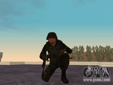 Soldiers of the MIA of the Russian Federation for GTA San Andreas forth screenshot