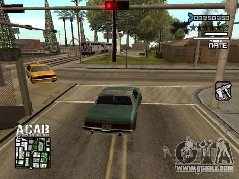 C-HUD by Edya for GTA San Andreas second screenshot