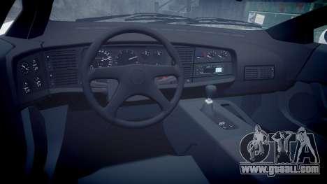 Jaguar XJ220 1992 [EPM] Gumball 3000 for GTA 4 inner view
