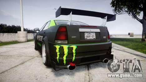 Albany Presidente Racer for GTA 4 back left view