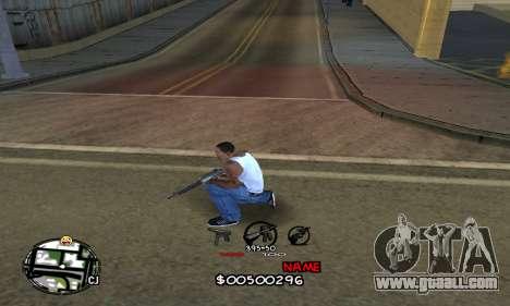 C-HUD by Jackson for GTA San Andreas second screenshot