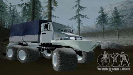 ZIL Kerzhak 6x6 for GTA San Andreas