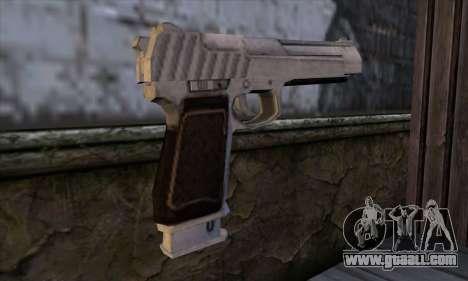 Pistol 50 from GTA 5 for GTA San Andreas second screenshot