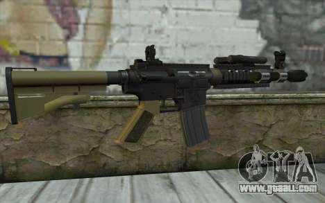 M4 MGS Aimpoint v1 for GTA San Andreas second screenshot
