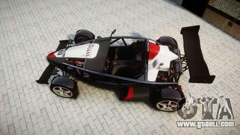 Ariel Atom V8 2010 [RIV] v1.1 Garton Racing Team for GTA 4 right view