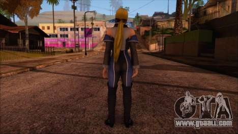 Modern Woman Skin 7 for GTA San Andreas second screenshot