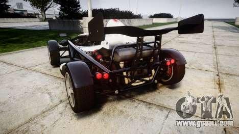 Ariel Atom V8 2010 [RIV] v1.1 FUEA Equipped for GTA 4 back left view