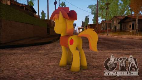 Braeburn from My Little Pony for GTA San Andreas second screenshot