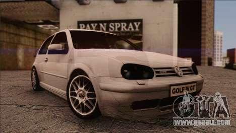 Volkswagen Golf Mk4 GTI for GTA San Andreas