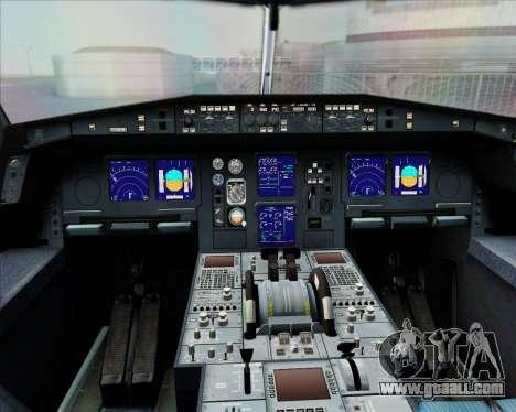 Airbus A340-300 Air Herler for GTA San Andreas interior