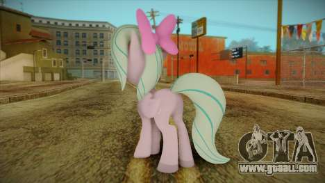 Flitter from My Little Pony for GTA San Andreas second screenshot