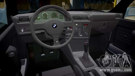 BMW M3 E30 1991 [EPM] for GTA 4 inner view
