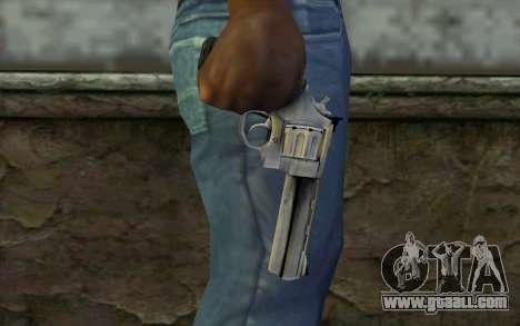 Revolver from Max Payne 3 for GTA San Andreas third screenshot