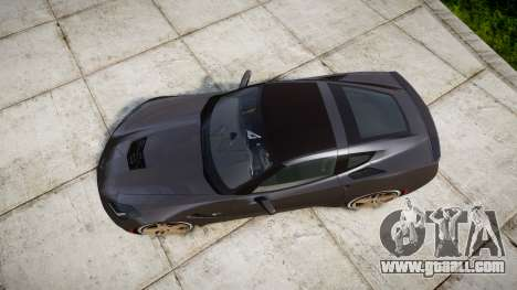 Chevrolet Corvette C7 Stingray 2014 v2.0 TireBr3 for GTA 4 right view