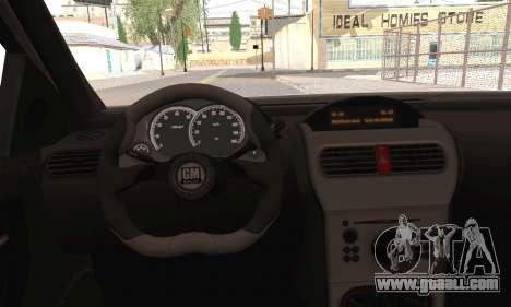 Opel Corsa 5-Doors for GTA San Andreas back left view