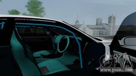Nissan Skyline GT-R33 for GTA San Andreas interior