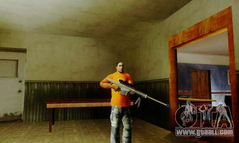 Weapon pack from CODMW2 for GTA San Andreas fifth screenshot