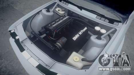 BMW M3 E30 1991 [EPM] for GTA 4 upper view