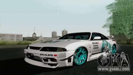 Nissan Skyline GT-R33 for GTA San Andreas