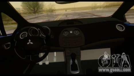 Mitsubishi Eclipse 2006 for GTA San Andreas upper view