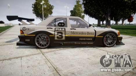 Mercedes-Benz 190E Evo II GT3 PJ 4 for GTA 4 left view