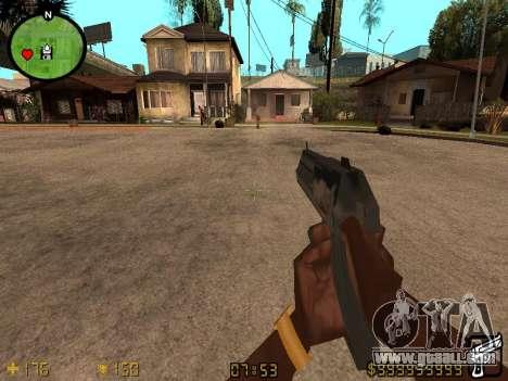 Counter-Strike HUD for GTA San Andreas second screenshot