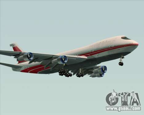 Boeing 747-100 Trans World Airlines (TWA) for GTA San Andreas back view