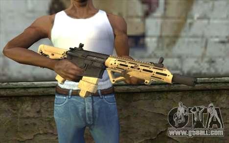 AR-25c for GTA San Andreas third screenshot