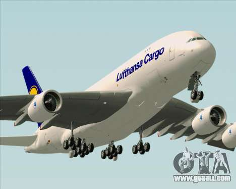 Airbus A380-800F Lufthansa Cargo for GTA San Andreas engine