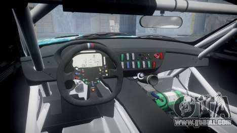 BMW Z4 GT3 2014 Goodsmile Racing for GTA 4 inner view