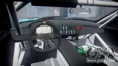 BMW Z4 GT3 2014 Goodsmile Racing for GTA 4 inner view
