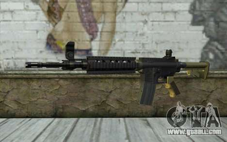 M4 MGS Iron Sight v1 for GTA San Andreas