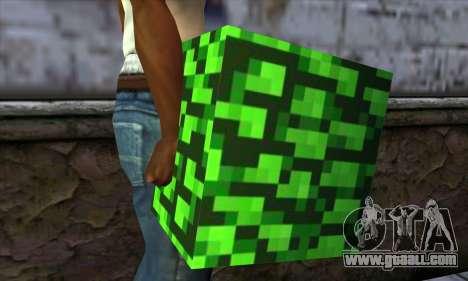 Block (Minecraft) v12 for GTA San Andreas third screenshot