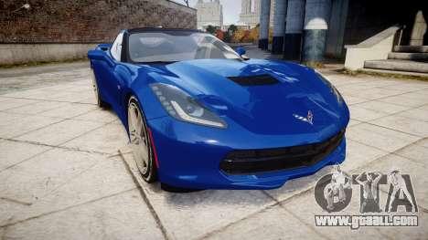 Chevrolet Corvette C7 Stingray 2014 v2.0 TireYA3 for GTA 4