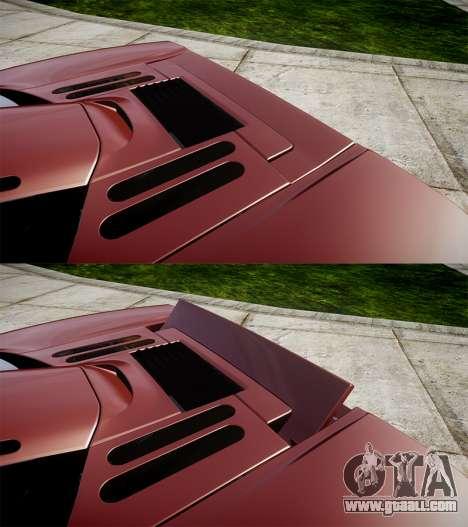 Mclaren F1 1993 [EPM] for GTA 4 upper view