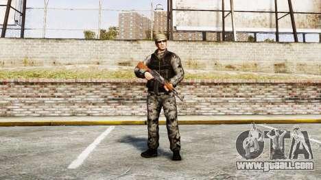 Medal of Honor LTD Camo2 for GTA 4