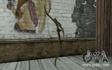 Green Arrow Bow v2 for GTA San Andreas second screenshot