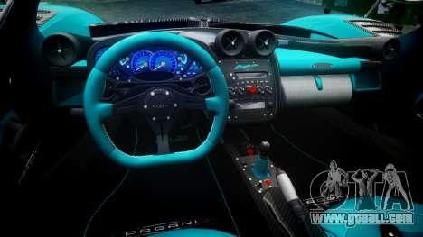 Pagani Zonda Uno for GTA 4 back view